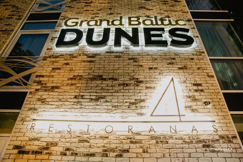Hotel Grand Baltic Dunes - modern rooms, restaurant, conference hall, beauty and SPA amenities - 45
