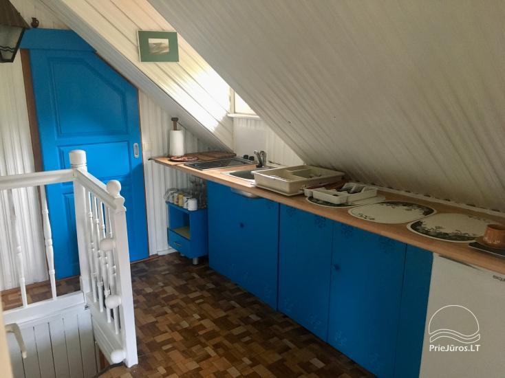 Dzīvokļu īre Juodkrante: visas ērtības, autostāvvieta, Wi-Fi, lapene - 33