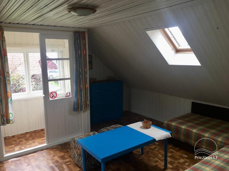 Dzīvokļu īre Juodkrante: visas ērtības, autostāvvieta, Wi-Fi, lapene - 31