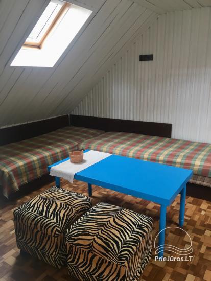 Dzīvokļu īre Juodkrante: visas ērtības, autostāvvieta, Wi-Fi, lapene - 29