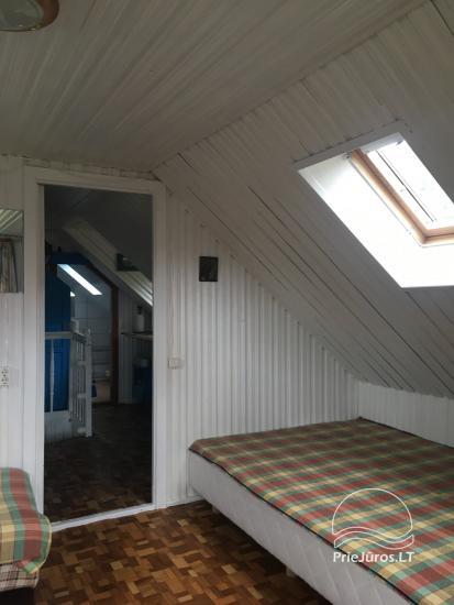 Dzīvokļu īre Juodkrante: visas ērtības, autostāvvieta, Wi-Fi, lapene - 35