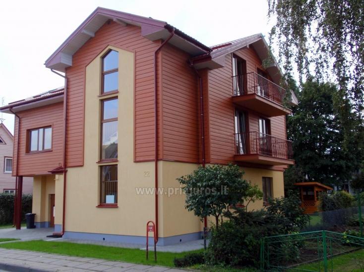 Kambarių, apartamentų nuoma naujame, šiuolaikiškai įrengtame name - 1