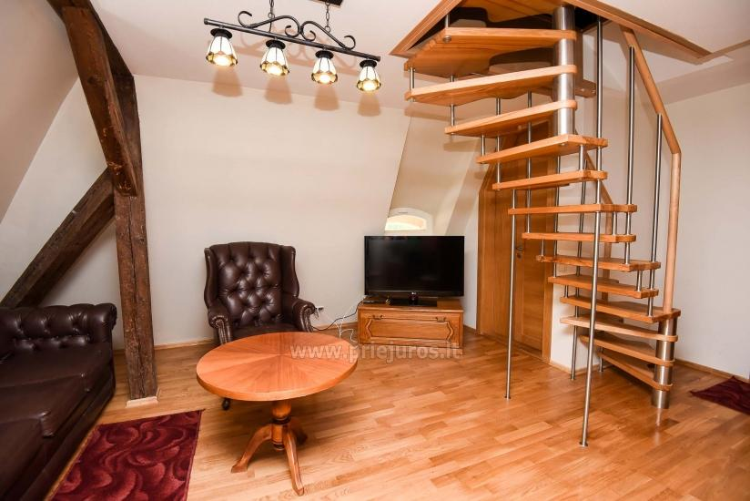 Villa Prie Peterso tilto in Rusne: accommodation, restaurant - 2