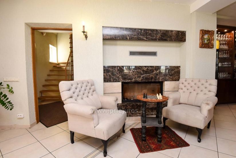 Villa Prie Peterso tilto in Rusne: accommodation, restaurant - 8