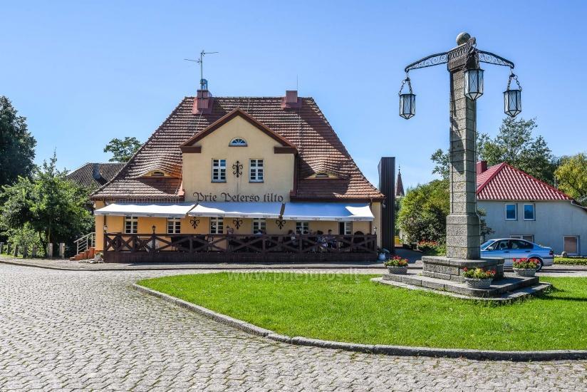 Villa Prie Peterso tilto in Rusne: accommodation, restaurant - 1