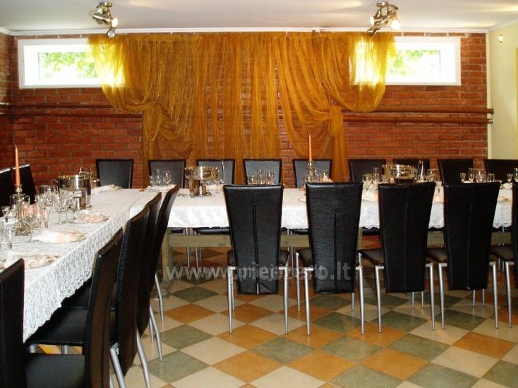 Gehöft Jotovila Mieten in Silute Region. Bankett, Konferenzsaal, Sauna - 9