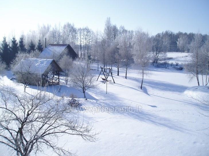 Gehöft Jotovila Mieten in Silute Region. Bankett, Konferenzsaal, Sauna - 10