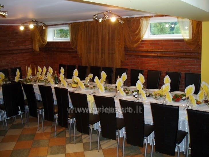 Gehöft Jotovila Mieten in Silute Region. Bankett, Konferenzsaal, Sauna - 12