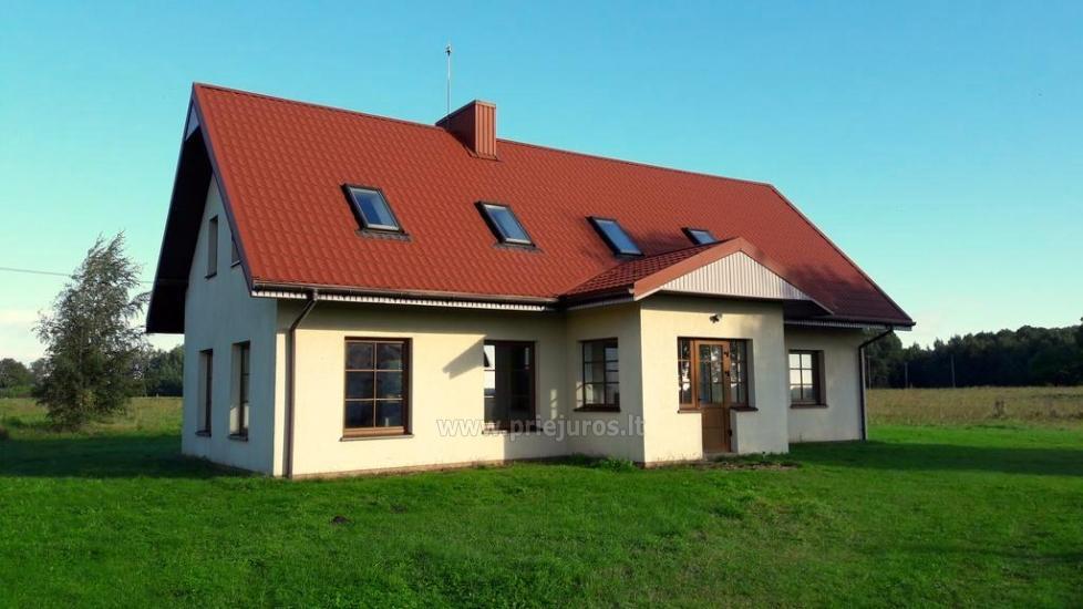 Keturių miegamųjų namas Šturmų kaime - 1