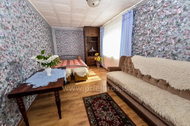 Poilsis Palangoje. Kambarių ir namelio nuoma 8-16 EUR / asm. - 7