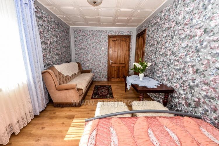Poilsis Palangoje. Kambarių ir namelio nuoma 8-16 EUR / asm. - 9