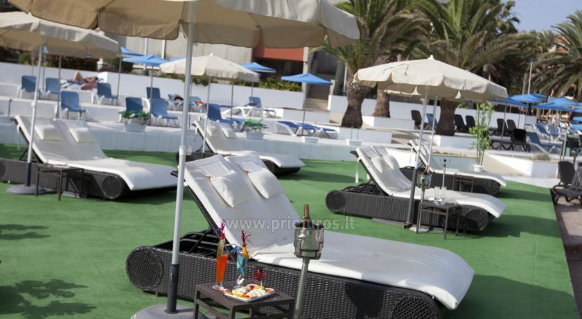 Alborada Beach Club erdvūs apartamentai pietinėje Tenerifės dalyje - 5