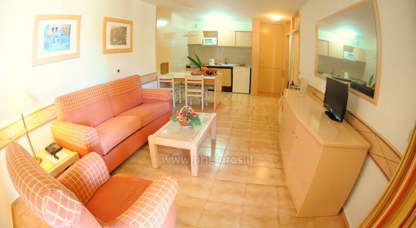 Alborada Beach Club plašie apartamenti dienvidu Tenerife - 8