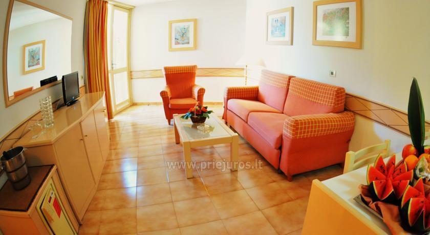 Alborada Beach Club plašie apartamenti dienvidu Tenerife - 9