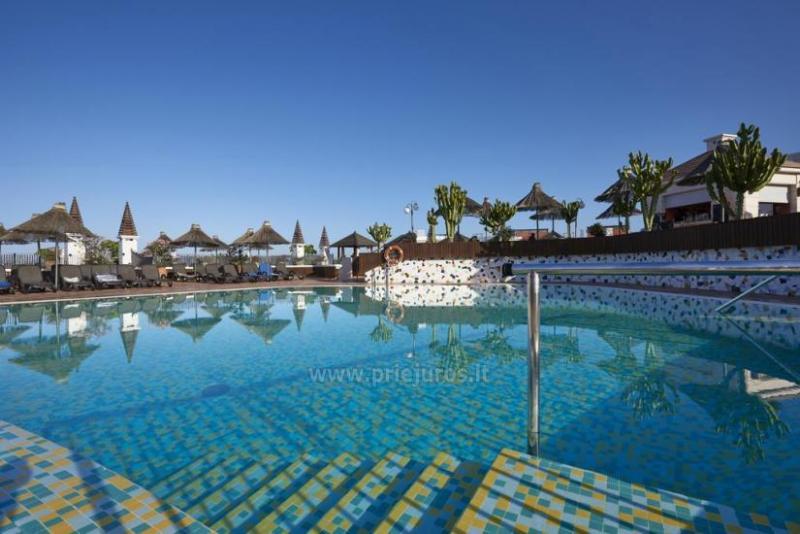 Apartamentų kompleksas Flamingo Beach Mate pietų Tenerifėje