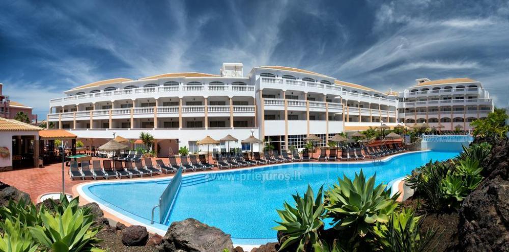 Apartamentų kompleksas Marola-Portosin Tenerifės salos pietuose - 1