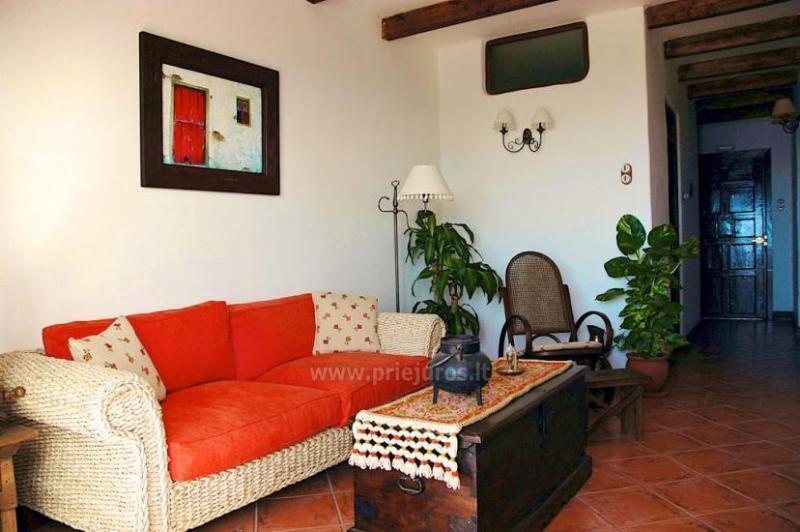 Kaimiško Kanarų stiliaus apartamentai Eco Finca Vista Bonita