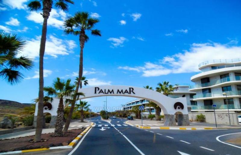 El Mocan Palm Mar apartamentai pietų Tenerifėje
