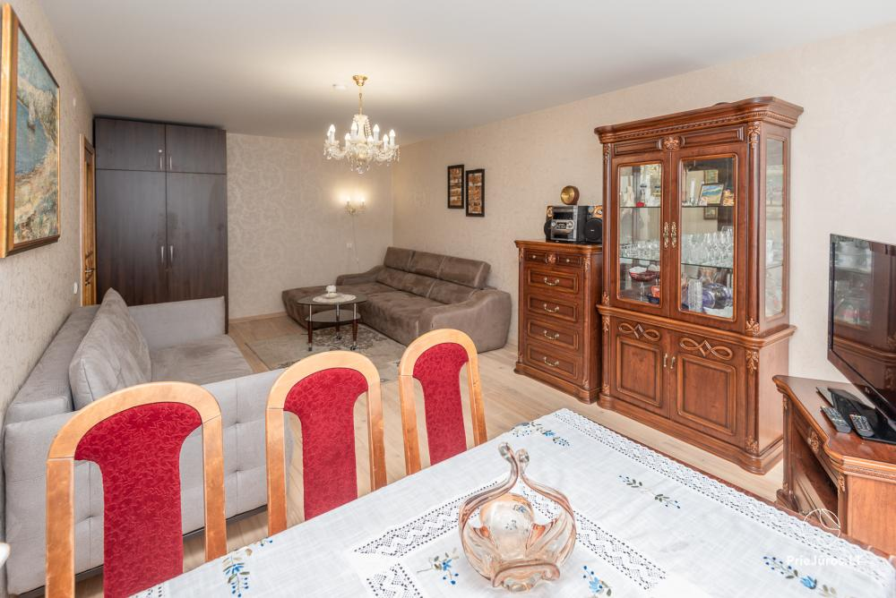 Newly renovated two rooms aprtment with large terrace in the center of Nida - 4