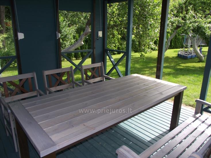 Guest House in Palanga Ronzes 23. Private yard, summerhouse - 20