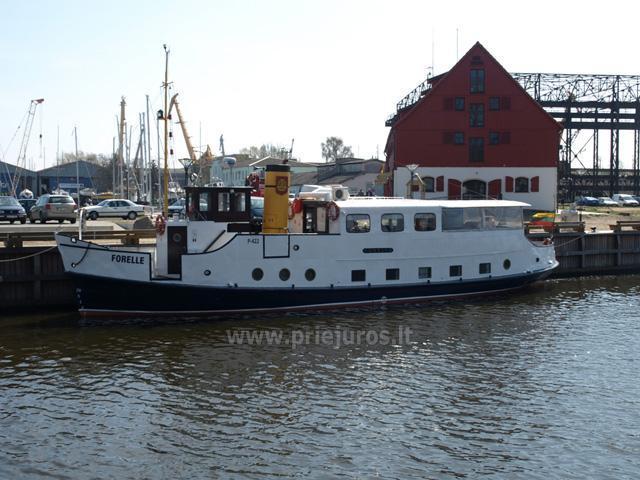 Laivų, jachtos, katerio nuoma