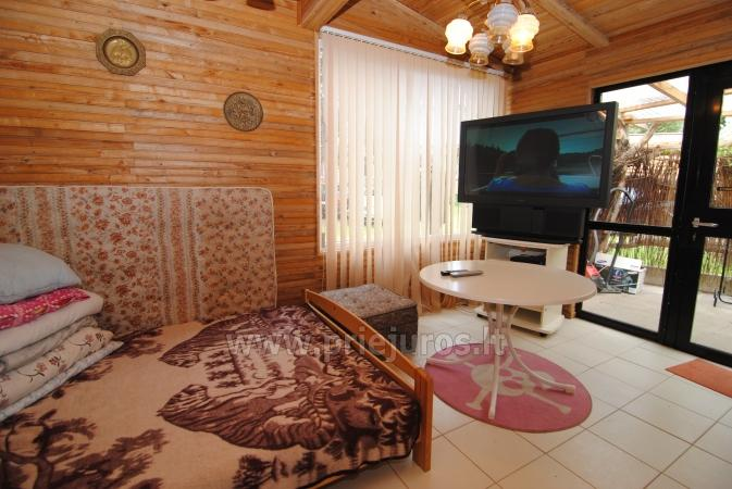 Quadruple holiday cottages for Rent in Sventoji Svajone| - 22