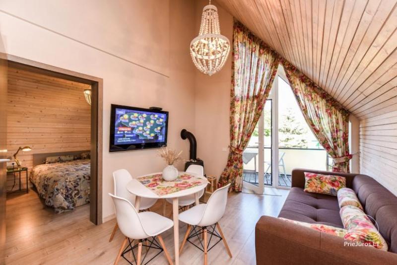 Jaukūs apartamentai Kunigiškėse, nedideliame kvartale, šalia jūros ir miško ramybės!