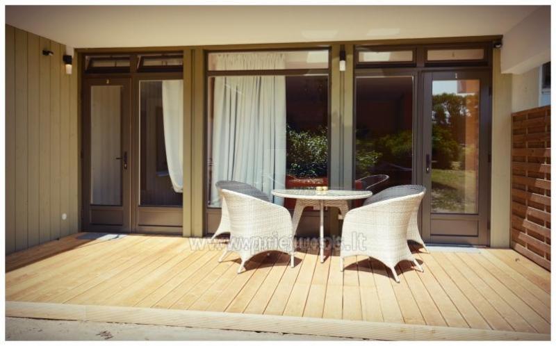 Jaukūs apartamentai Preiloje su terasomis netoli marių