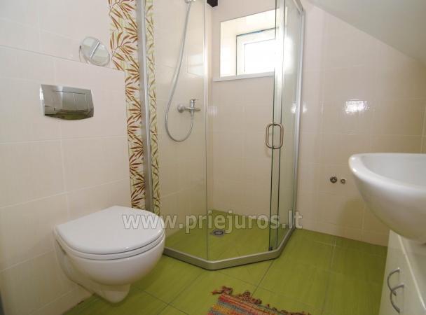 Dviejų kambarių butas per du aukštus Nidoje - 10