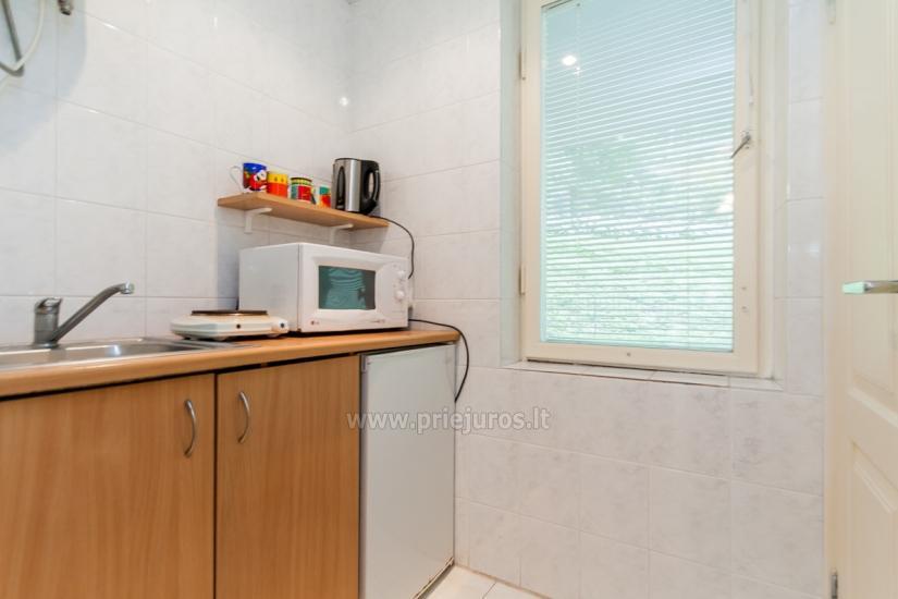 Pas Valentiną: apartamentai 1 a.,kiemelis,terasa su staliukais, Wi-Fi - 9