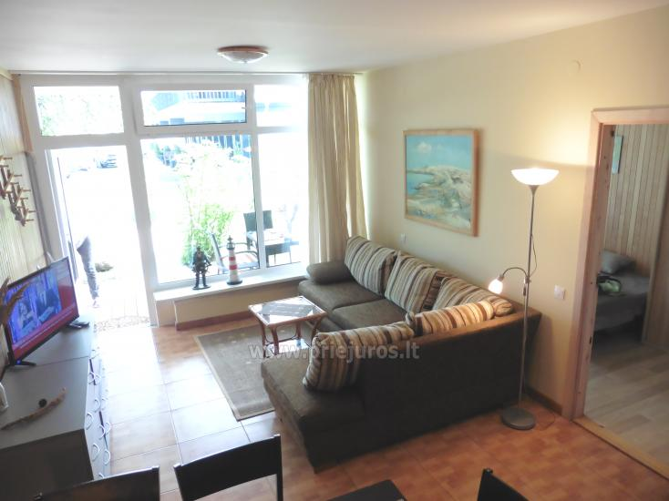 Cozy two-room apartment of 35 m2 with a terrace on the ground floor. View on Curonian Lagoon - 3