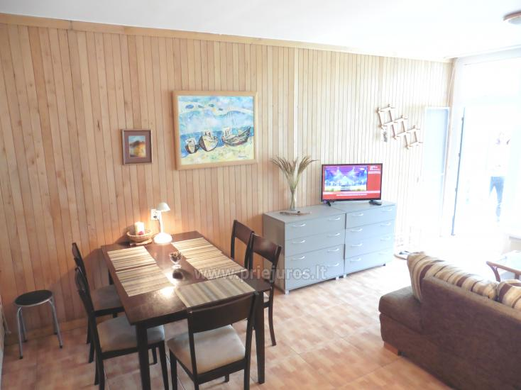 Cozy two-room apartment of 35 m2 with a terrace on the ground floor. View on Curonian Lagoon - 4