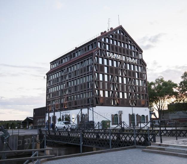 Modern hotel in Klaipeda \