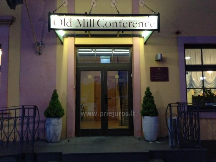 Viešbutis Klaipėdoje Old Mill Conference. Erdvūs kambariai, konferencijų ir pobūvių salė, restoranas - 11
