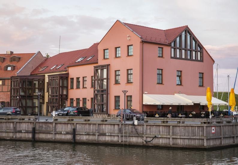 Viešbutis Klaipėdoje Old Mill Conference. Erdvūs kambariai, konferencijų ir pobūvių salė, restoranas - 12