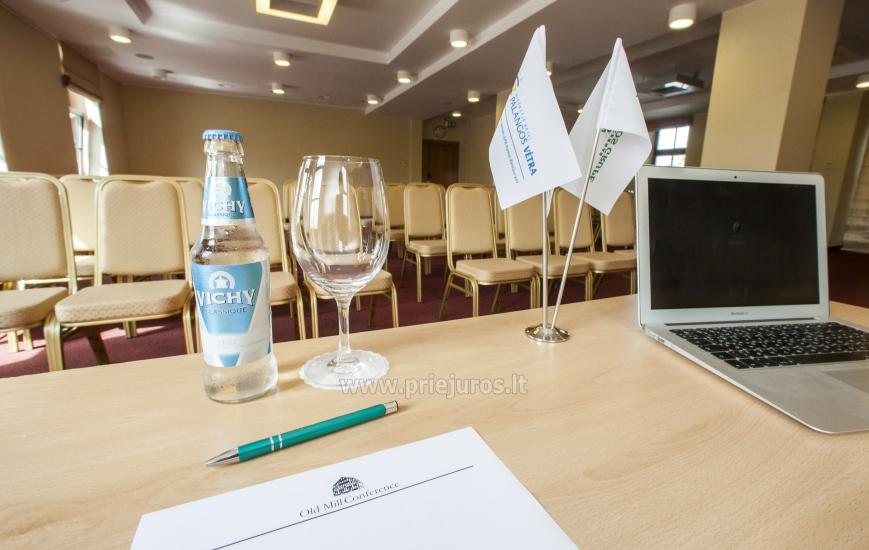 Viešbutis Klaipėdoje Old Mill Conference. Erdvūs kambariai, konferencijų ir pobūvių salė, restoranas - 9