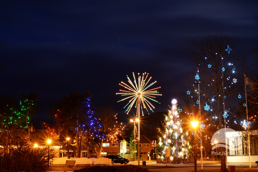 Šv.Kalėdų eglutė Nidoje, Juodkrantėje
