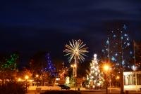 Ziemassvētku eglīte Nidā, Juodkrante - 1