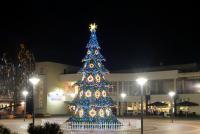 Christmas tree in Palanga and Šventoji - 12