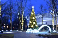 Christmas tree in Palanga and Šventoji - 3