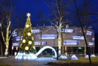 Christmas tree in Palanga and Šventoji - 4