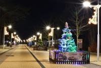 Christmas tree in Palanga and Šventoji - 6