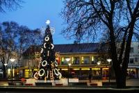 Christmas tree in Palanga and Šventoji - 17