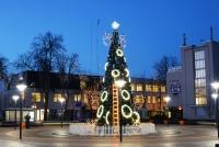 Christmas tree in Palanga and Šventoji - 18