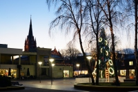 Christmas tree in Palanga and Šventoji - 19