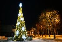 Christmas tree in Palanga and Šventoji - 68