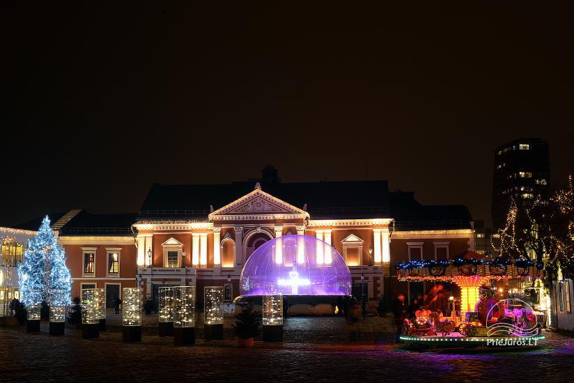 Ziemassvētku eglīte Klaipēdā