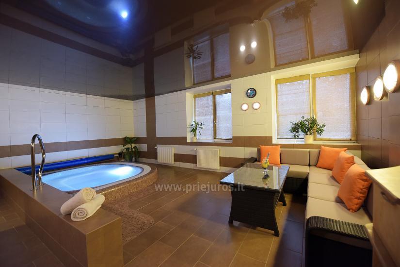 Sauna, pool in Palangos žuvėdra hotel - 3
