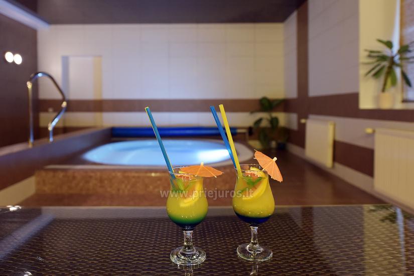 Sauna, pool in Palangos žuvėdra hotel - 5