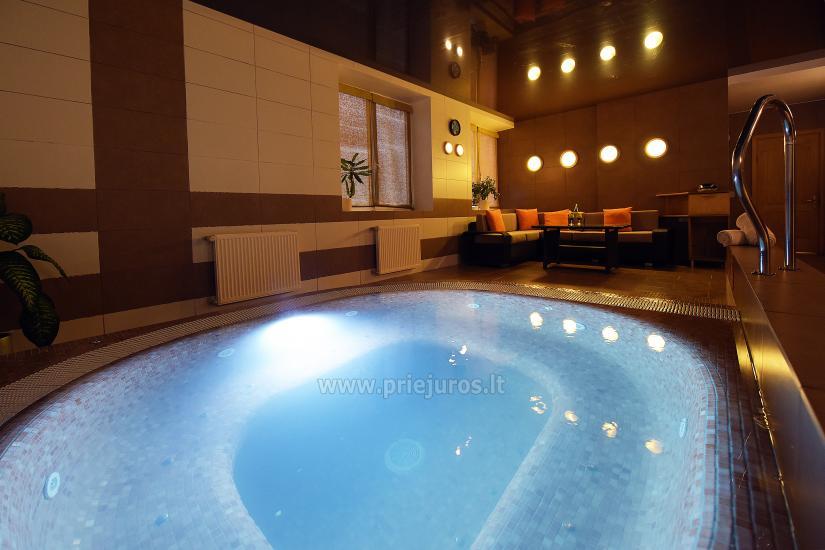 Sauna, pool in Palangos žuvėdra hotel - 4